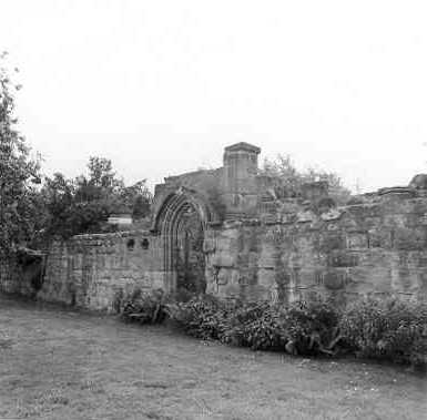 Remains of the Refectory at Merevale Abbey, Merevale, North Warwickshire   Warwickshire County Council
