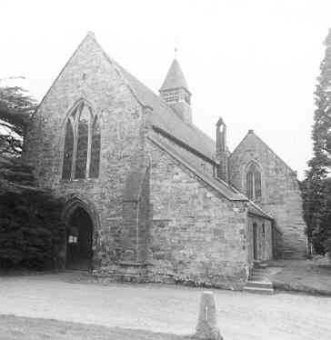 Abbey Chapel of Our Lady at the Gate, Merevale