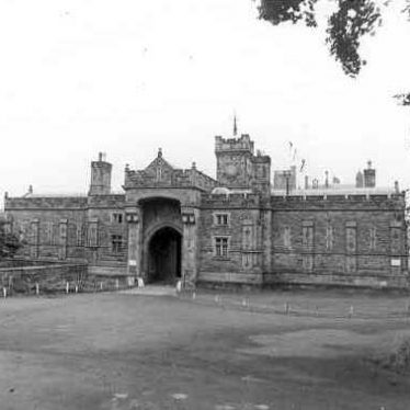 Gatehouse to Merevale Hall, Merevale, North Warwickshire | Warwickshire County Council