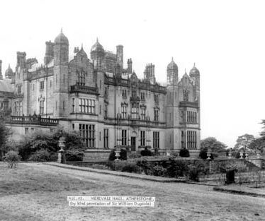 A view of Merevale Hall, Merevale | Warwickshire County Council