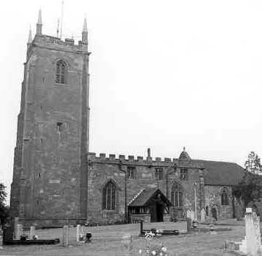 Church of St Lawrence, Ansley parish