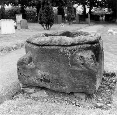 Base of Ansley Churchyard Cross, Ansley, North Warwickshire | Warwickshire County Council