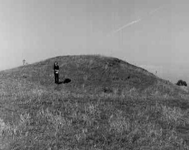 Mound for rotunda at Alscot Park
