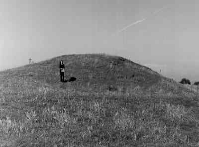 A mound, possibly once the site of a tower, Preston on Stour | Warwickshire County Council