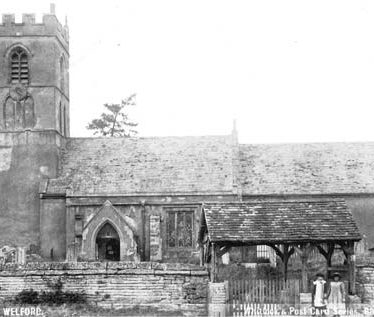 Church of St Peter, Welford on Avon