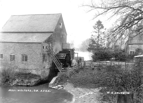 A view of the watermill at Welford on Avon | Warwickshire County Council