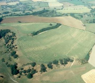 Iron Age Hillfort at Meon Hill