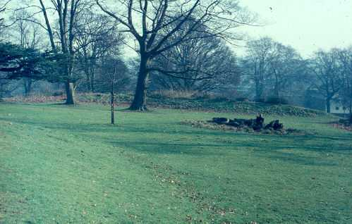 Earthworks in Priory Park, Warwick | Warwickshire County Council