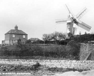 A view of Tuttle Hill Windmill, Nuneaton | Warwickshire County Council