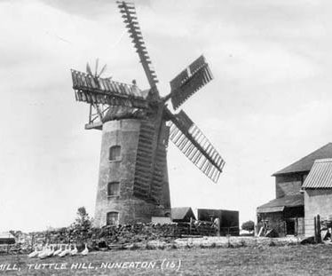 Tuttle Hill Windmill, Nuneaton and Bedworth