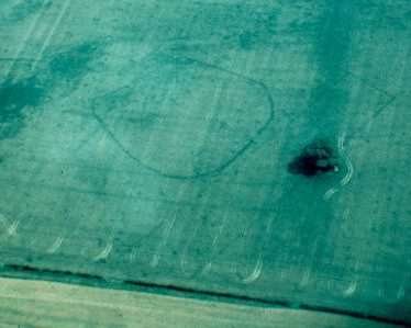 Cropmarks to W of Old Barn Cottage