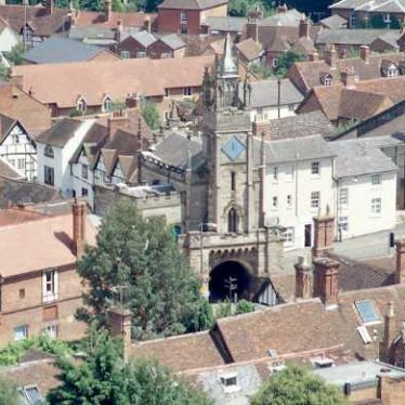Eastgate and the Chapel of St. Peter, Warwick | Warwickshire County Council