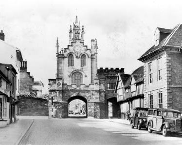 The Chapel of St. Peter, above Eastgate, Warwick | Warwickshire County Council