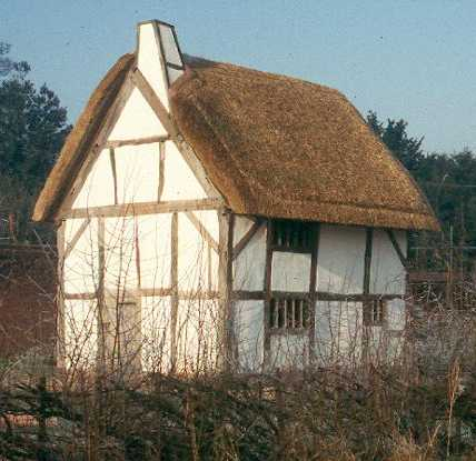A timber framed house in Lea Marston   Warwickshire County Council