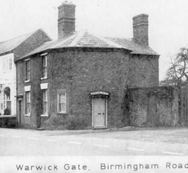 Site of Tollgate on Birmingham Road