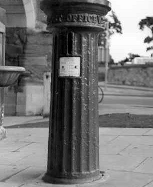 Victorian Pillar Box to W of Eastgate