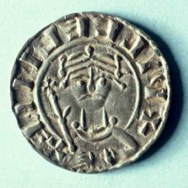 A coin of William I (1066 - 1087) which was minted at the Warwick mint | Warwickshire County Council