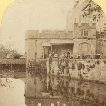 View of the Castle Mill, a watermill at Warwick Castle | Warwickshire County Council