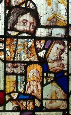 14th century stained glass at John the Baptist's Church, Cherington | Warwickshire County Council