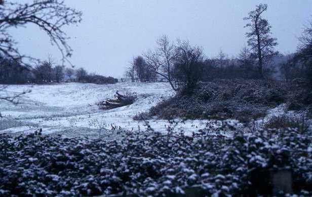 A dam visible as an earthwork near Fox Covert, Leek Wootton   Warwickshire County Council