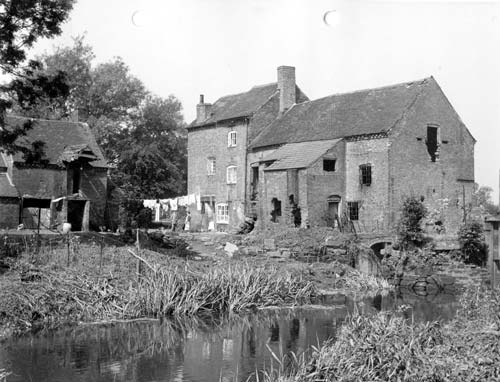A view of Alder Mill, Atherstone   Warwickshire County Council