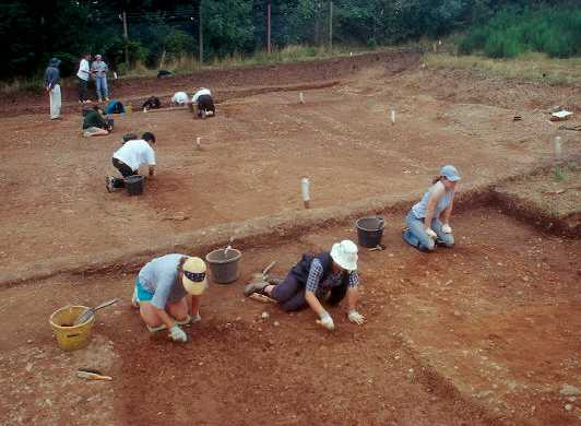 Excavations at The Lunt Roman Fort, Baginton | Warwickshire County Council