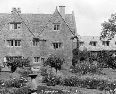 A view of Ilmington Manor, Ilmington | Warwickshire County Council
