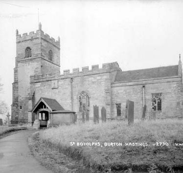 Church of St Botolph, Burton Hastings
