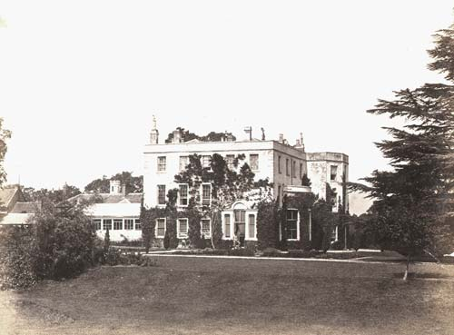 A view of Coton House, Churchover | Warwickshire County Council