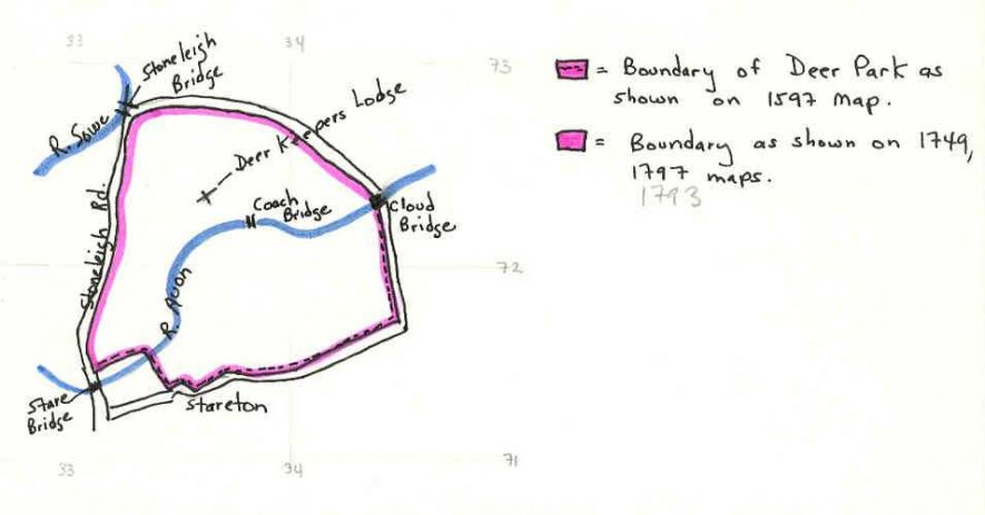 A sketch plan of a deer park at Stoneleigh | Warwickshire County Council