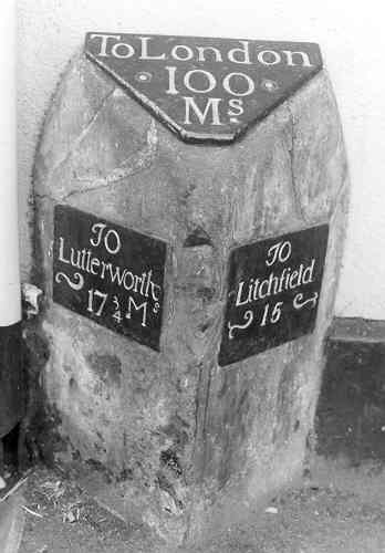 Milestone in Atherstone | Warwickshire County Council