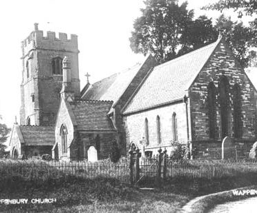 Church of St John the Baptist, Wappenbury