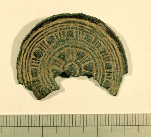 A Saxon brooch from Bidford on Avon | Warwickshire County Council