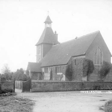 Church of St Edmund and Church House, Church Lane, Thurlaston