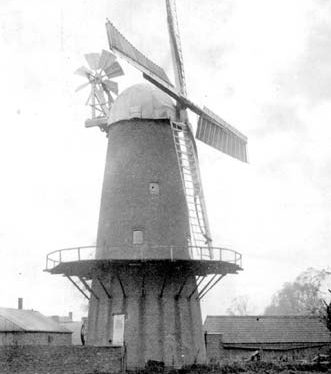 A view of the windmill at Thurlaston | Warwickshire County Council