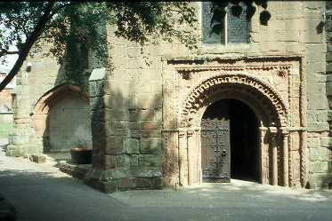 Norman doorway at St Nicholas' Church, Kenilworth | Warwickshire County Council