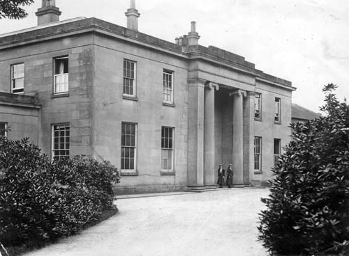 A view of Fillongley Old Hall | Warwickshire County Council