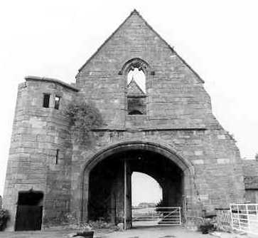 Maxstoke Priory Outer Gatehouse