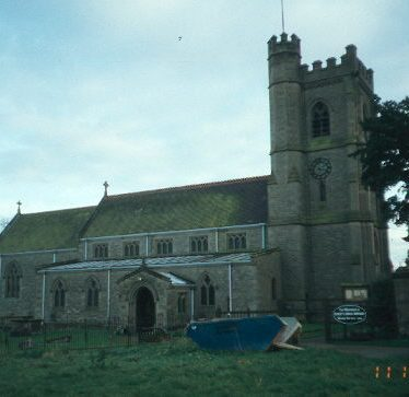 Church of St Peter, Church Lawford