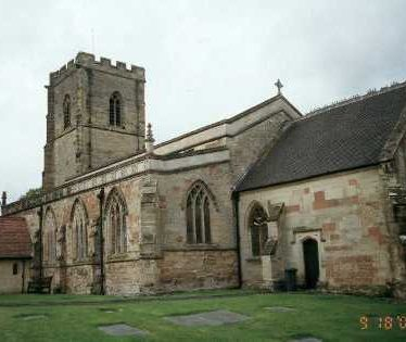 Church of St John the Baptist, Wolvey