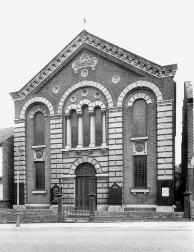 Methodist Church, Railway Terrace, Rugby | Warwickshire County Council