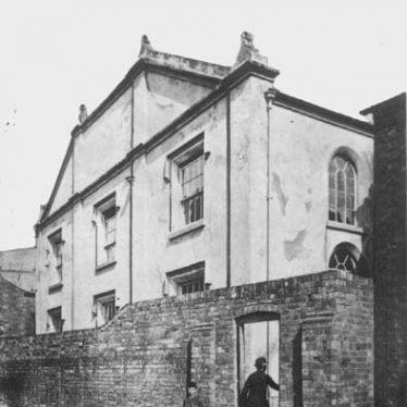 Site of Chapel, Chapel Street/Market Street