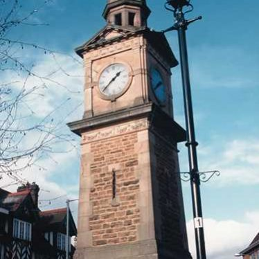 Jubilee Clock Tower, Market Place, Rugby