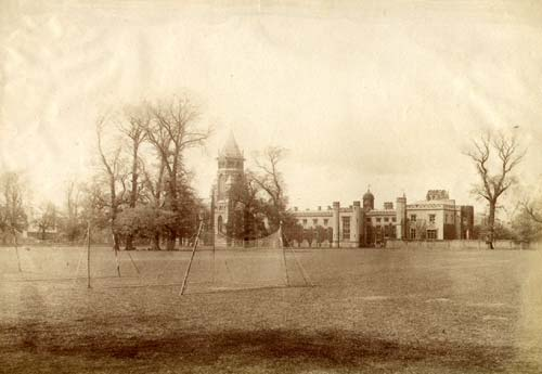 A view of Rugby School in the 1880s | Warwickshire County Council