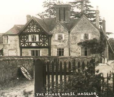 Haselor Manor House