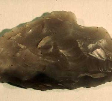 Findspot - flint from Hunningham
