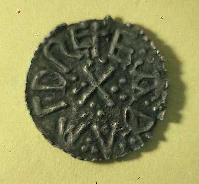 An Anglo Saxon coin found in Grafton Lane, Bidford | Warwickshire County Council