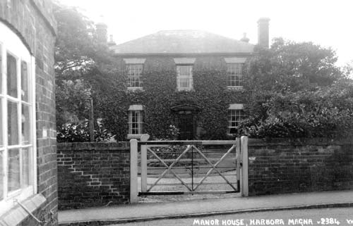 The Manor House, Harborough Magna | Warwickshire County Council