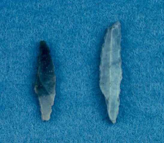 Mesolithic blades from Great Packington | Warwickshire County Council
