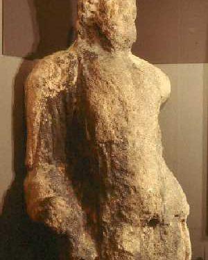 Findspot - Roman statue, Alcester.